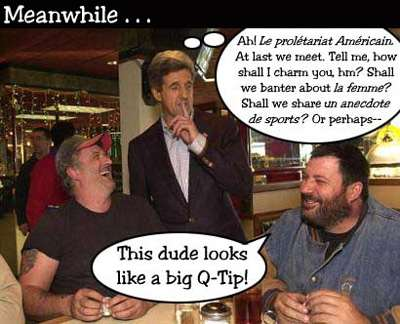 Lurch visits the little people