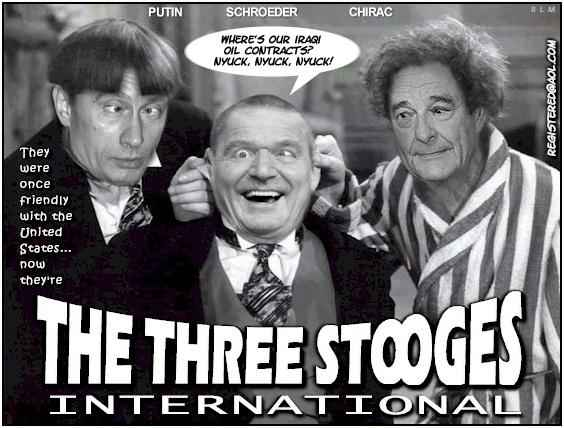 The Three Stooges of Europe